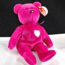 Ty Valentina Plush Bear Retired Beanie Baby 4233