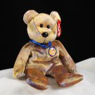 Ty Clubby III The Bear Retired Beanie Baby