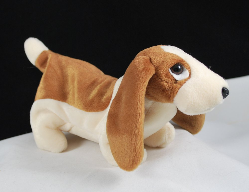 Ty Beanie Baby Tracker The Basset Hound Dog Retired 4198