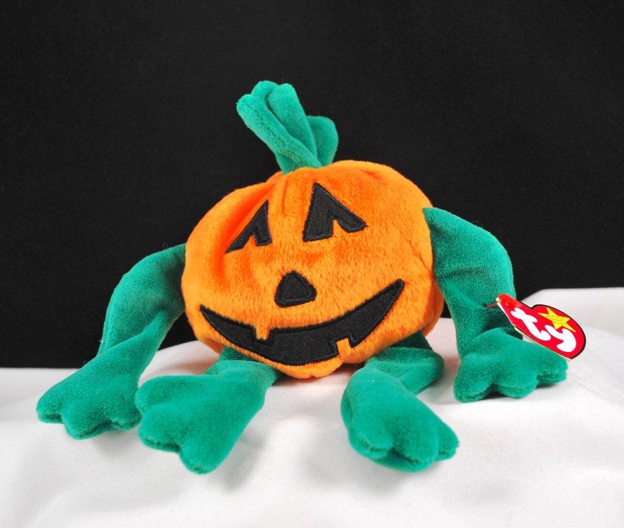 Retired Ty Beanie Baby Pumkin' The Pumpkin 4205