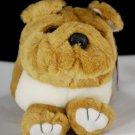 Bosley the Puffkins Bulldog Plush by Swibco Style 6654