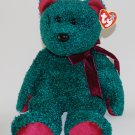 2001 Holiday Teddy Ty Beanie Buddy Plush Style 9427