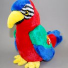 Ty Beanie Buddy Jabber the Parrot Bird Plush Style 9326