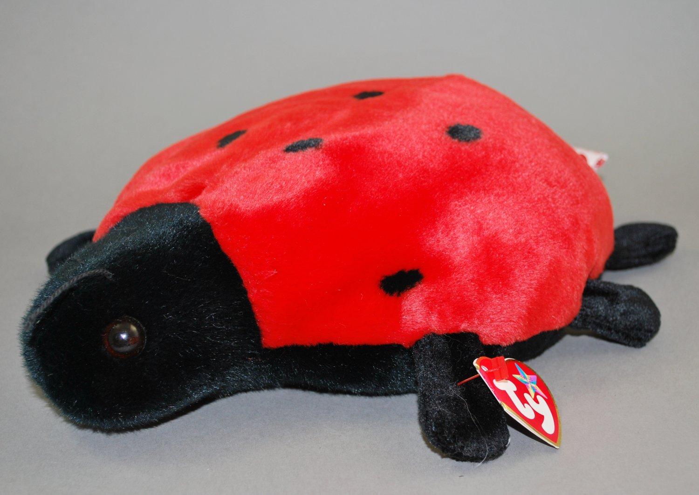 Lucky the Ty Beanie Buddy Ladybug Plush Style 9354