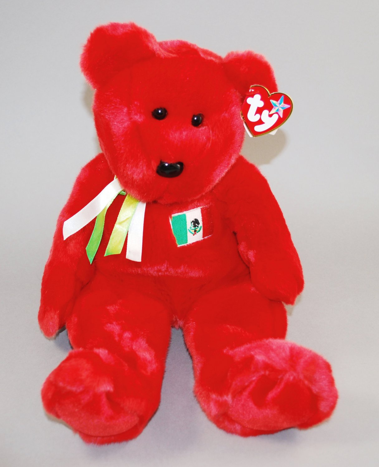 Ty Osito the Mexican Bear Plush Beanie Buddy Style 9344