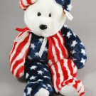 Spangle the Bear Ty Beanie Buddy Plush Style 9336