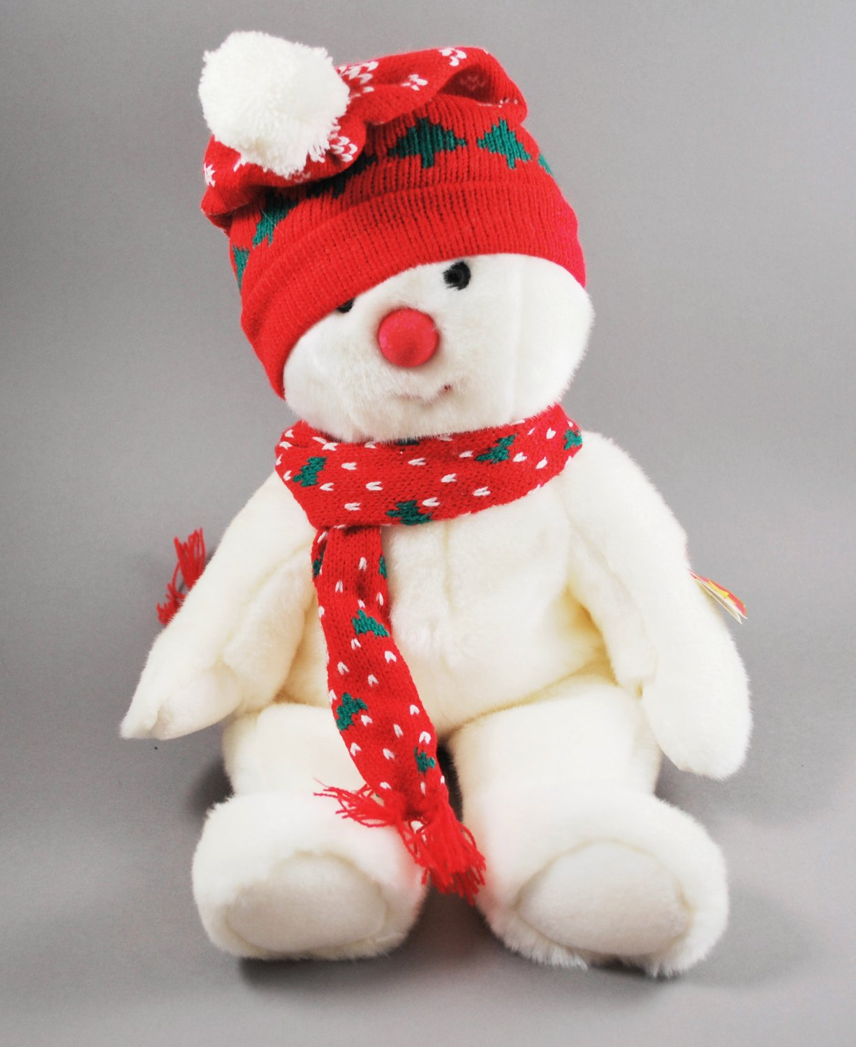 Winter Holiday Snowboy the Snowman Ty Beanie Buddy Plush Style 9342