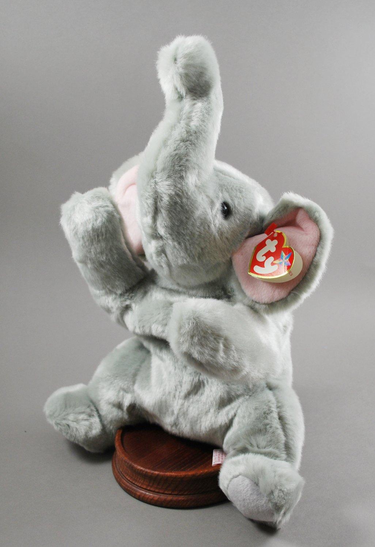 Ty Righty the Elephant Plush Beanie Buddy Style 9369