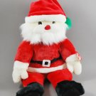 Santa Claus Christmas Ty Plush Beanie Buddy Style 9385
