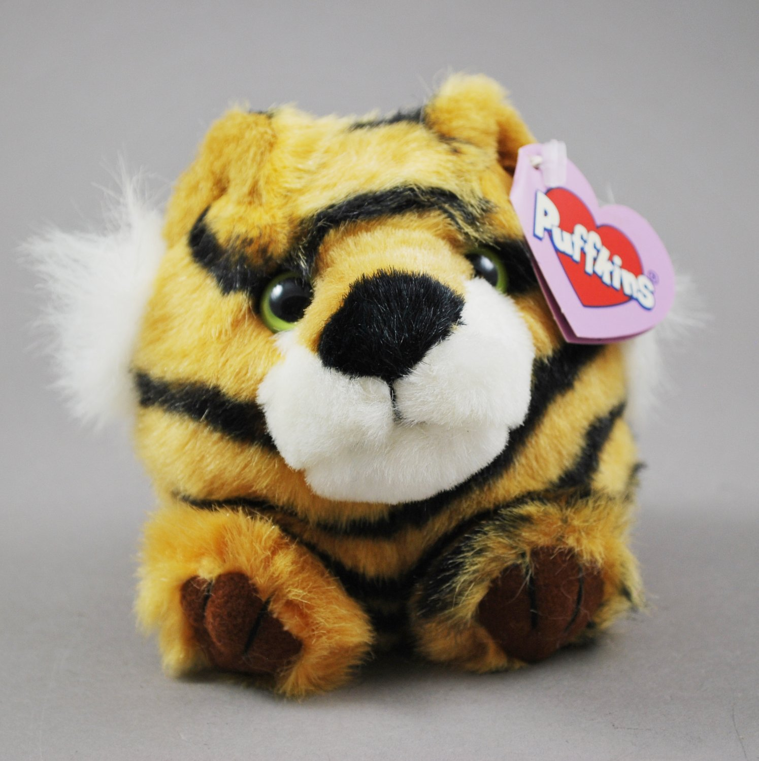 Tipper the Tiger Puffkins Bean Bag Plush Swibco Style 6615