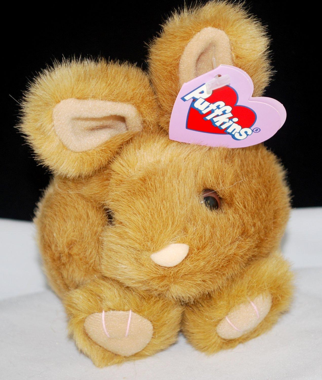 Puffkins Tibbs the Brown Bunny Rabbit Plush Style 6638