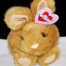 Puffkins Tibbs the Brown Bunny Rabbit Plush Style 6638