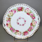 Polish Hermann Ohme Floral Porcelain Collector Plate