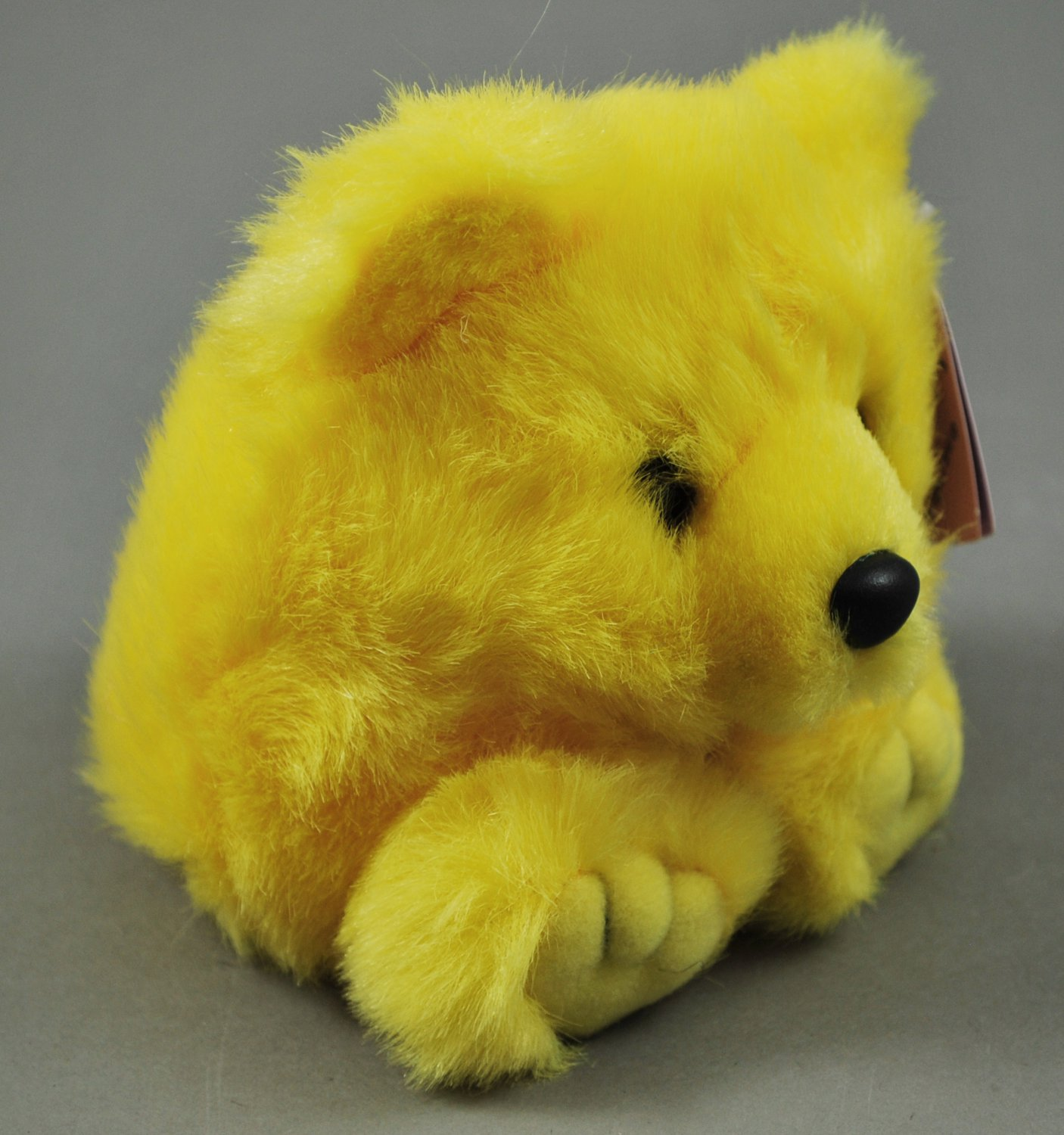 Buttercup the Puffkins Yellow Bear Plush Swibco Style 6674