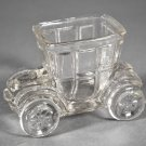 Vintage Crystal Truck or Taxi Toothpick Holder
