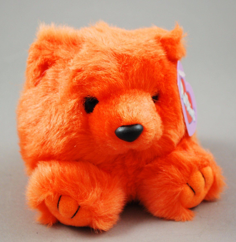 Puffkins Mango the Orange Bear Swibco Plush Style 6675