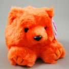 Puffkins Mango the Orange Bear Swibco Plush Style 6675