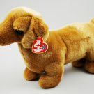 Weenie The Dachshund Dog Plush Ty Beanie Buddy Style 9356