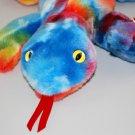 Lizzy The Lizard Ty Beanie Buddy Ty-Dyed Plush Style 9366