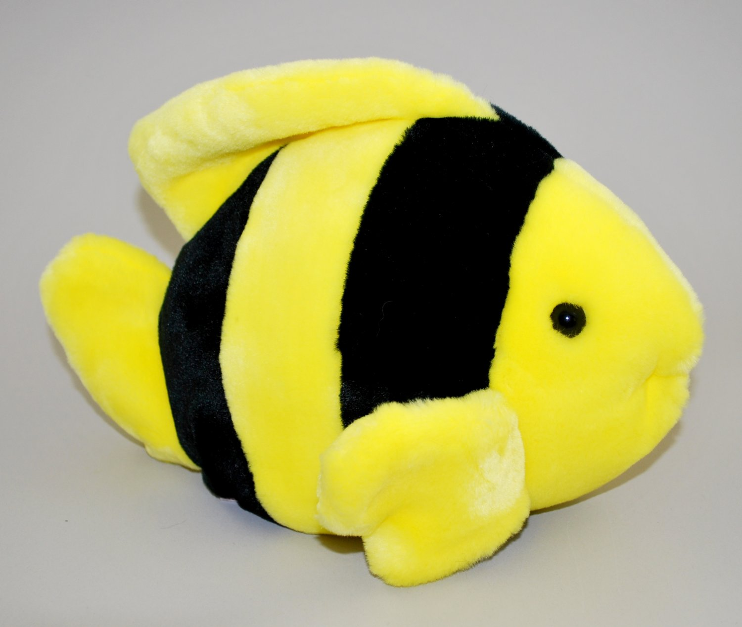 Bubbles The Yellow and Black Fish Ty Beanie Buddy Plush Style 9323