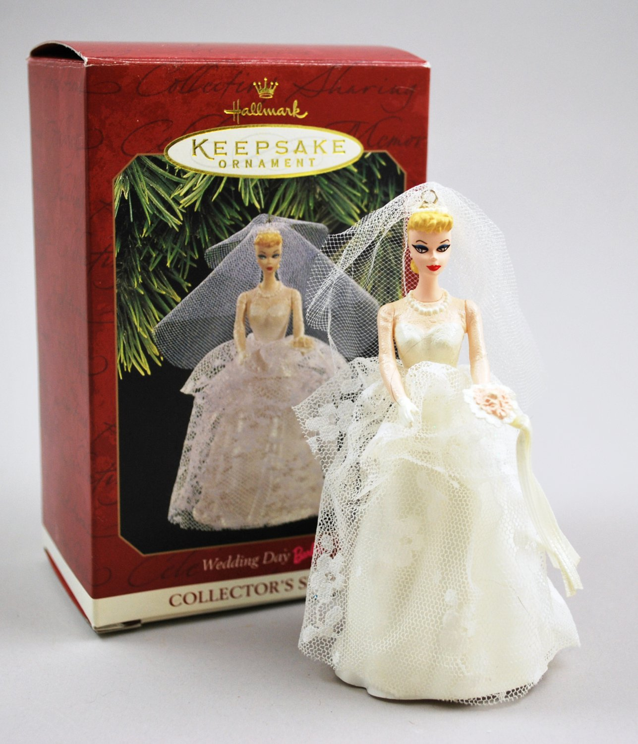 Hallmark 1997 Barbie Wedding Day Keepsake Ornament Fourth Collector's Series