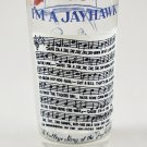 Vintage Kansas I'm A Jayhawk Collegiate Tumbler with Song Football Design