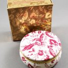 1985 Avon Chateau Holiday Collection Natural Blend Potpourri & Tin