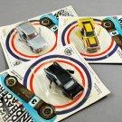 Set of 3 Vintage Zee Windracers 1981 Diecast Metal Racing Cars
