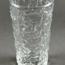 Anchor Hocking Lido Milano Crystal Clear Glass Flat Base Tumbler