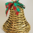 1988 Avon Christmas Holiday Greetings Festive Wicker Bell