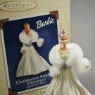 Hallmark Keepsake Celebration Barbie 2003 Ornament Winter Fantasy Ensemble