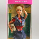 1996 Back To School Barbie Doll Special Edition Blonde