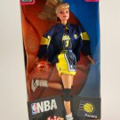 1998 Mattel Barbie Doll NBA Indiana Pacer Authentic Team Uniform Blonde NIB