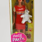 Coca-Cola Party Barbie Doll 1998 Special Edition Play Scene