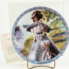 1995 Enesco Gibson Girl Barbie The Great Eras Collection Porcelain Collector Plate