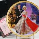 1996 Enesco Barbie Holiday Dance 1965 Collector Plate NIB COA