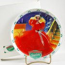 1988 Enesco Barbie Happy Holidays Porcelain Bisque Collector Plate NIB