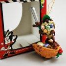 Looney Tunes Taz Baseball Tasmanian Devil 1997 Matrix Christmas Tree Ornament