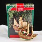 Hallmark Keepsake Vintage 1992 Santa Maria Ship Christmas Tree Ornament