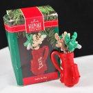 1990 Hallmark Keepsake Golf's My Bag Christmas Tree Ornament