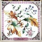1983 Avon Floral Expression Collector Tile or Trivet Hospitality