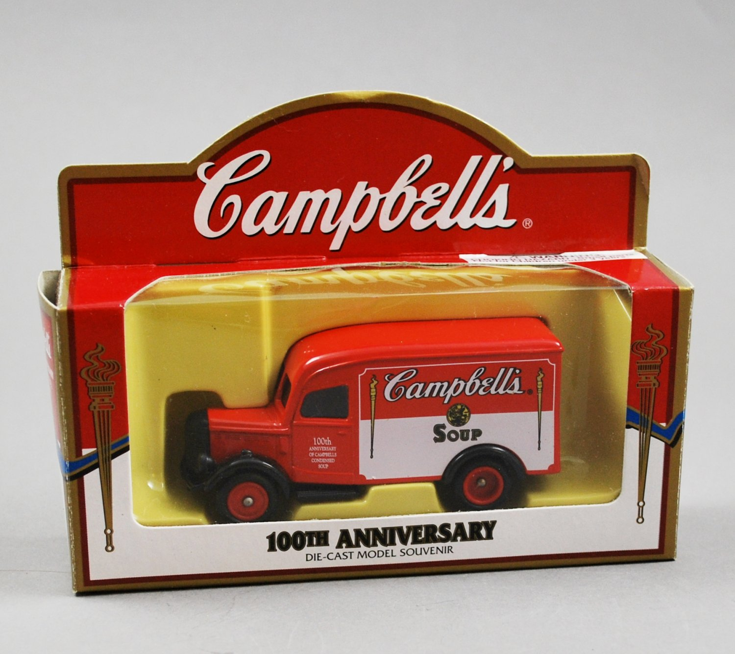 Lledo Campbell's 100th Anniversary Die Cast  Model Delivery Truck Campbell's Soup