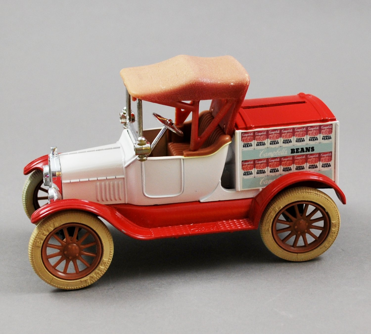 ERTL Diecast Replica 1918 Ford  Model T Runabout Delivery Truck Bank