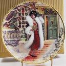 1998 Barbie Holiday Voyage Hallmark Victorian Christmas Collector Plate NIB