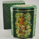 1981 Avon Holiday Treats Decorative Tin Canister