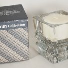 1985 Avon Shimmering Glass Convertible Candle Holder