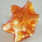 Fenton Marigold Blackberry Bramble No. 303 Carnival Glass Compote