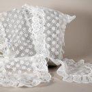 1983 Avon Victorian White Lace Scarf