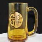 Amber Greentown Festival Souvenir Glass Mug