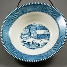 Royal China Currier & Ives Cereal Bowl The Schoolhouse in Winter